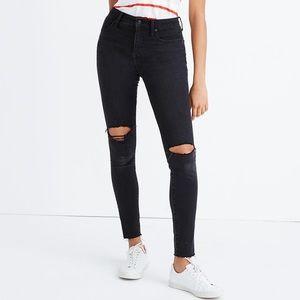 Madewell curvy high rise skinny jeans!